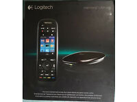 New Boxed Logitech Harmony Ultimate Remote and Hub Media Virgin Sky TV