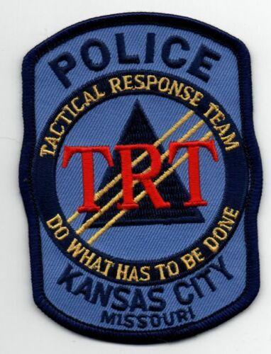MISSOURI MO KANSAS CITY POLICE TACTICAL RESPONSE TEAM NICE PATCH SHERIFF 1 OF 2