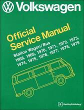 VW Volkswagen Station Wagon / Bus (Type 2) 1968 - 1979 Service Bk Blacktown Blacktown Area Preview
