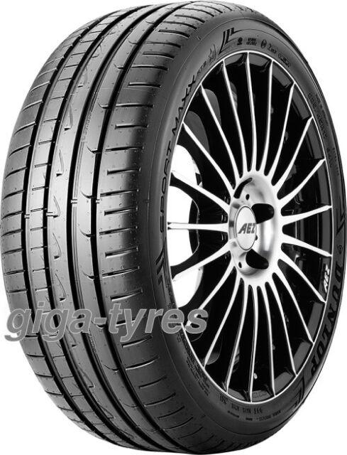 SUMMER TYRE Dunlop Sport Maxx RT2 255/35 ZR18 94Y XL með MFS BSW