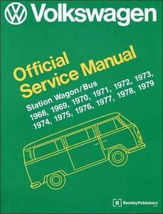 VW Volkswagen Station Wagon / Bus (Type 2) 1968 - 1979 Service Ma Blacktown Blacktown Area Preview