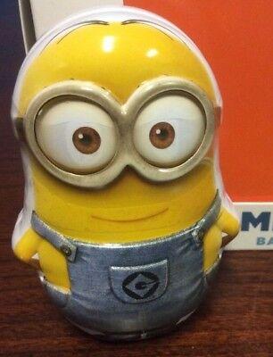 Minion Dave Despicable Me Tin with 1.5oz | 42.5g Banana Shaped Candy - Banana Shaped Candy