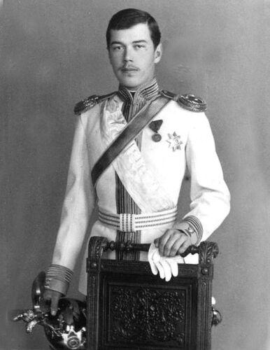 Photo Tsarevich Nikolai Aleksandrovich the future Nicholas II, Emperor of Russia