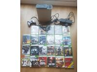 Xbox 360 with over 20 games
