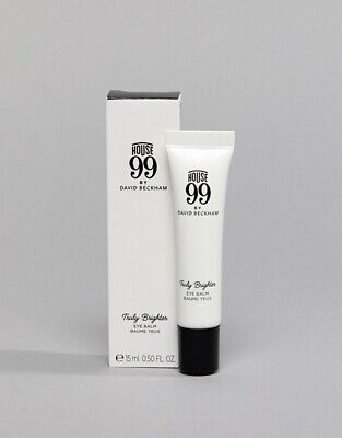 House 99 By David Beckham Truly Brighter Eye Balm 15ml Brand New Boxed