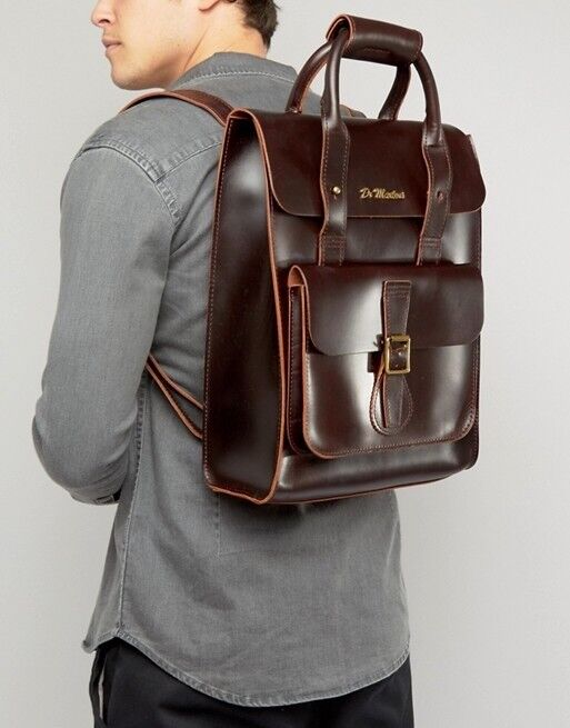 Dr Marten backpack.