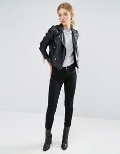 vero moda leather jacket