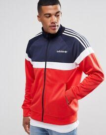 BNWT Adidas Itasca Red/White/Blue Jacket