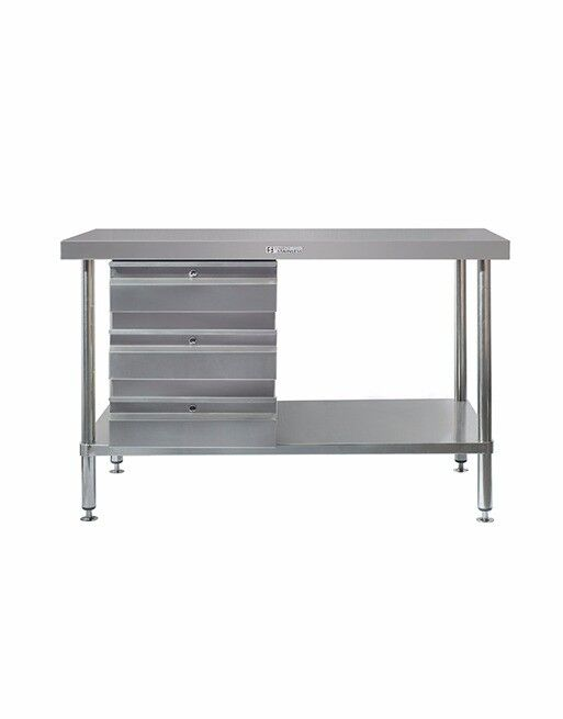 BRAND NEW SIMPLY STAINLESS SS010600 TABLE