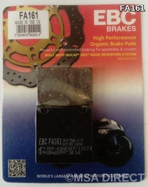 Kawasaki ZXR750 (1989 to 1995) EBC Kevlar REAR Brake Pads (FA161) (1 Set)