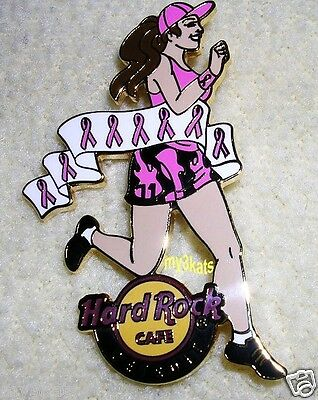 HARD ROCK CAFE DETROIT BREAST CANCER PINKTOBER PIN 2008