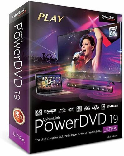 CyberLink PowerDVD Ultra 19 2020 ✅blu ray software