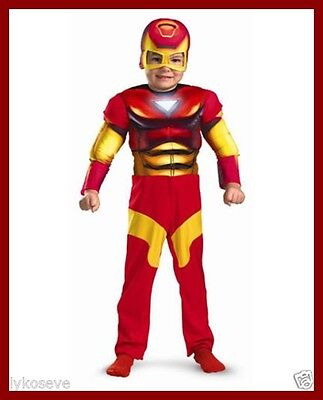 Toddler Muscle Chest Iron Man Costume free shipping with buy it now price new (Buy Superhero Costume)