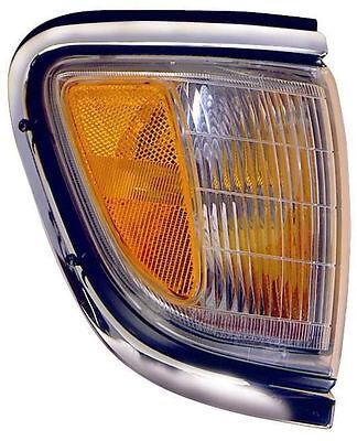 - RIGHT Corner Light - Fits 95-96 Toyota Tacoma 2WD Turn Signal - Chrome