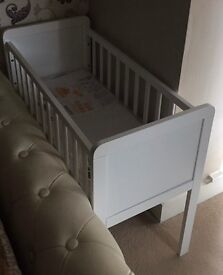 Baby Crib -Mothercare White
