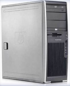 HP Professional Workstation with Monitor and Printer