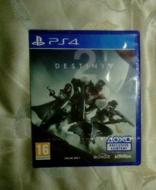 DESTINY 2 AND MAFIA 3 FOR THE PS4