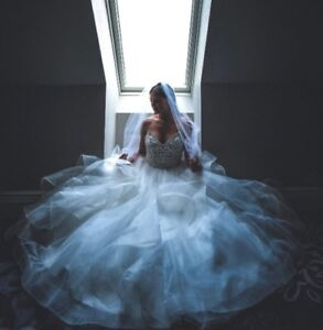 Stunningly Beautiful Wedding Gown