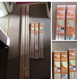 5 New in box Blinds