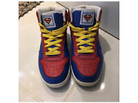 Size 6 authentic superman HiTops