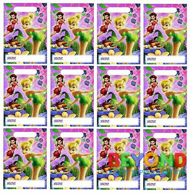 Disney Fairies Tinkerbell Loot Bags Favors & Party Bag Fillers Candy Treats](Tinkerbell Party)