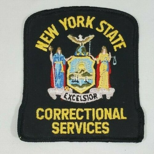 NEW YORK NY STATE POLICE CORRECTIONAL SERVICES PRISON CORRECTIONS PATCH
