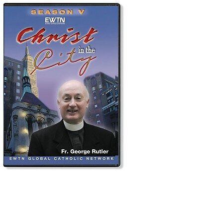 Christ In The City Season  Volume One  Fr Rutler Ewtn Network Dvd