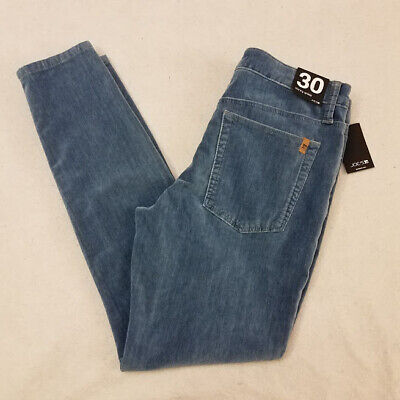 Joes Flat Front Jeans - Joe's Jeans 30 Blue Skinny Slim Ankle Suede Flat Front Womens New with Tags