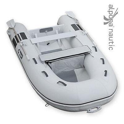 ALPUNA nautic SeaRover 290 Aluminium-RIB Tender Dingi Schlauchboot Angelboot NEU