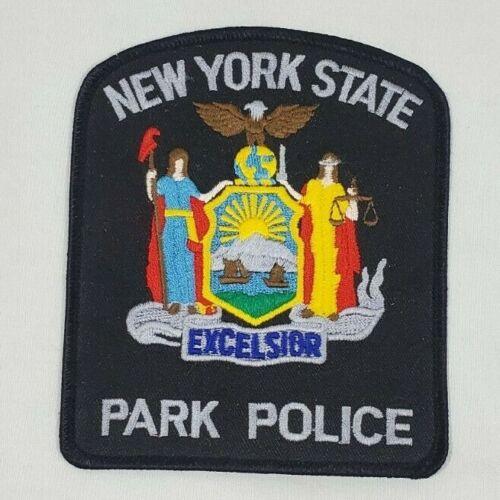 NEW YORK NY STATE PARK POLIC  SHOULDER PATCH