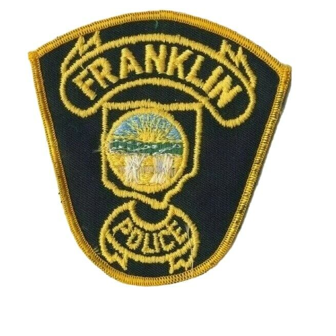"""Franklin Ohio OH Police 3.75"""" Patch"""