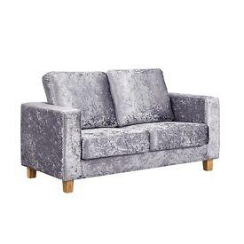 *MARCH SALE - Lovely Crushed Velvet Sofa For Sale*
