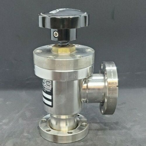 """MDC Angle Manual Vacuum Valve AV-150 2.75"""" Conflat flange, Great Condition"""