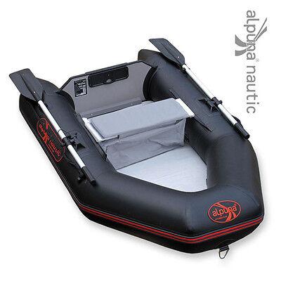 ALPUNA nautic IBT 200 AIR schwarz Schlauchboot Angelboot Ruderboot Airmate