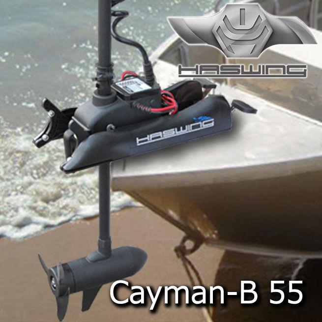 лодочный электромотор haswing cayman 55
