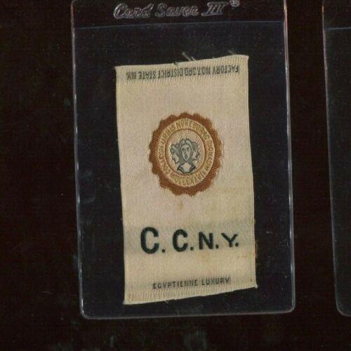 S25 Tobacco Silk - College Seals Series - C.C.N.Y.