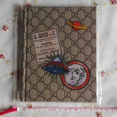 "Authentic Gucci Hard Cover Notebook ""MY GUCCI BOOK"" Oggi Japan Limited Edition"