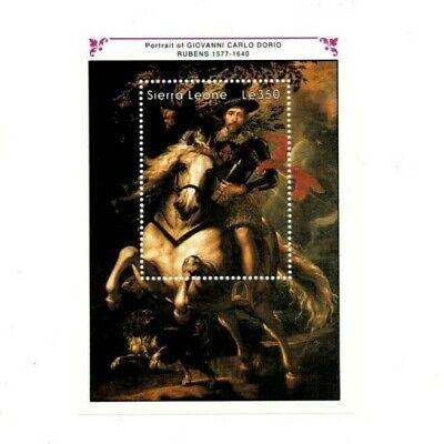 VINTAGE CLASSICS - Sierra Leone 1312 - Ruben Art - Souvenir Sheet -MNH