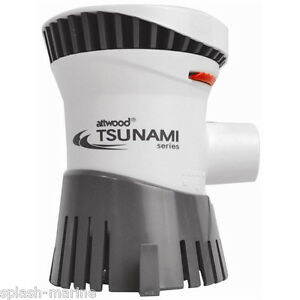Attwood-Tsunami-T1200-12-Voltaje-Barco-achique-Bomba-1200gph-Calidad-Superior-CE