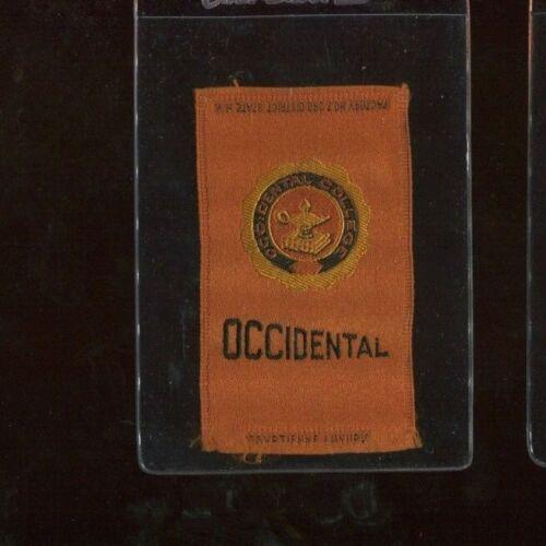 S25 Tobacco Silk - College Seals Series - Occidental