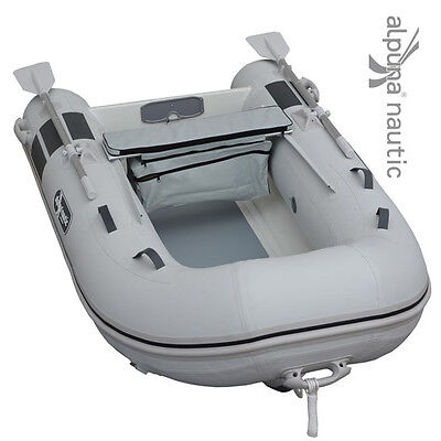 ALPUNA nautic SeaRover 250 Aluminium-RIB Tender Dingi Schlauchboot Angelboot NEU