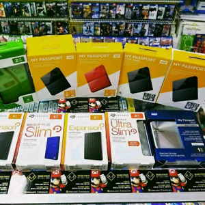 SEAGATE & WD  external Hard drives 1TB & 2TB* BRAND NEW SEALED*