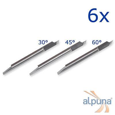 6 Plotters for Summa T - 45° Summagraphics Summa sign ALPUNA Quality blades