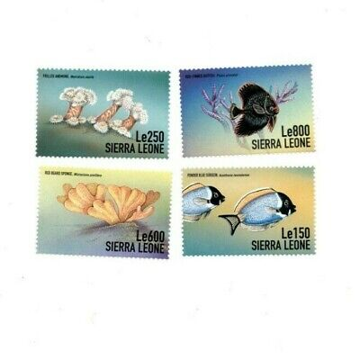 VINTAGE CLASSICS - Sierra Leone Year Of Ocean - Set Of 4 Stamps - MNH