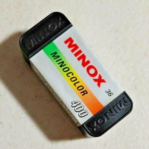 Vintage Minox Mino Color Camera Film 8x11 36 EXP Empty Box -- 5325
