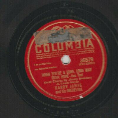 JAZZ HARRY JAMES 1942 STRICTLY INSTRUMENTAL 78rpm- COLUMBIA #