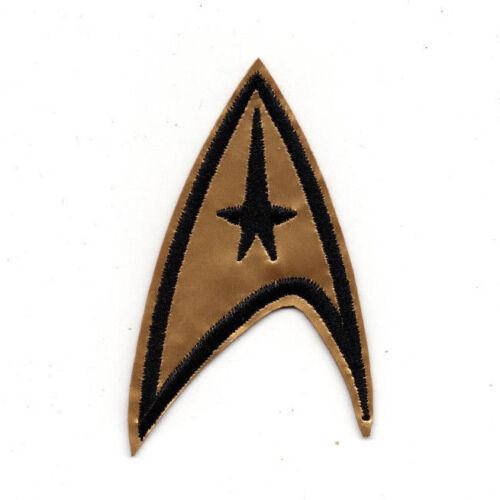 Star Trek Original Series Command Insignia Logo Patch 3 1/2 inches tall TOS