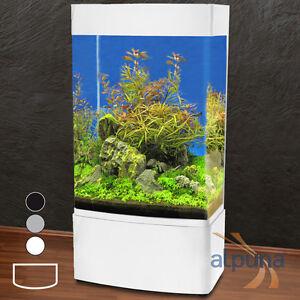 Panorama Säulen-Aquarium GHH-80   350L weiß T5