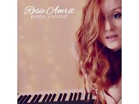 Wedding Pianist and Vocalist - Elegant and sophisticated music with a funky modern twist