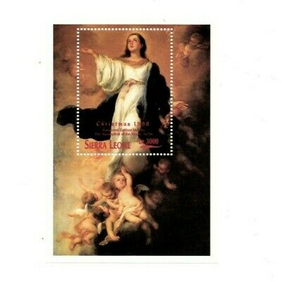 VINTAGE CLASSICS - Sierra Leone 2146 - Christmas 1998 - Souvenir Sheet - MNH